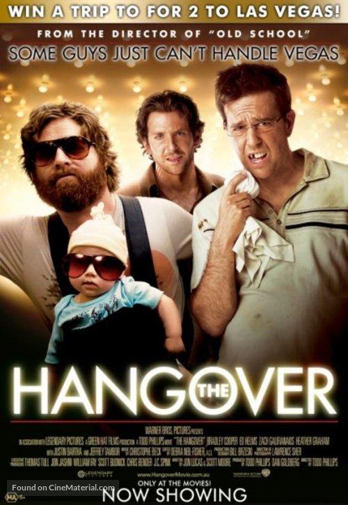 The Hangover - Australian Movie Poster