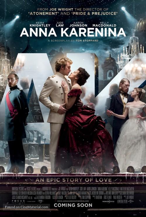 Anna Karenina - British Movie Poster