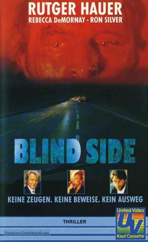 Blind Side - German VHS movie cover