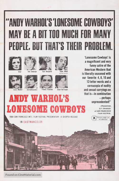 Lonesome Cowboys - Movie Poster