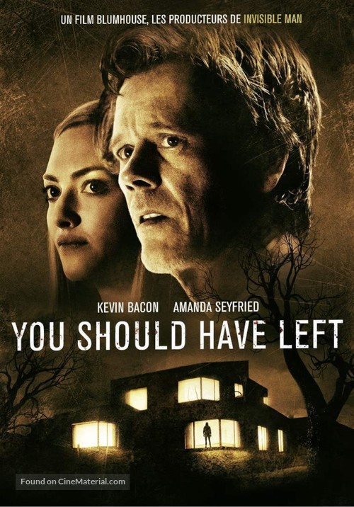 You Should Have Left - French DVD movie cover