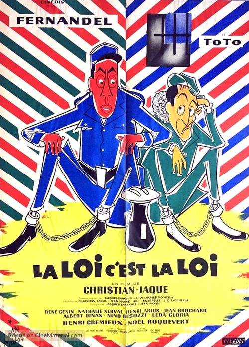 La legge è legge - French Movie Poster