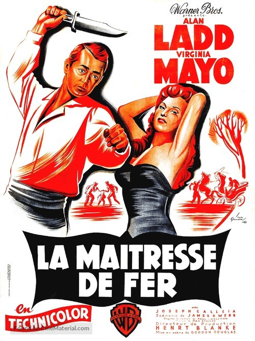 The Iron Mistress - French Movie Poster