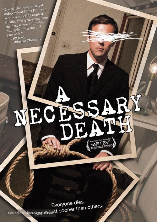 A Necessary Death - DVD movie cover
