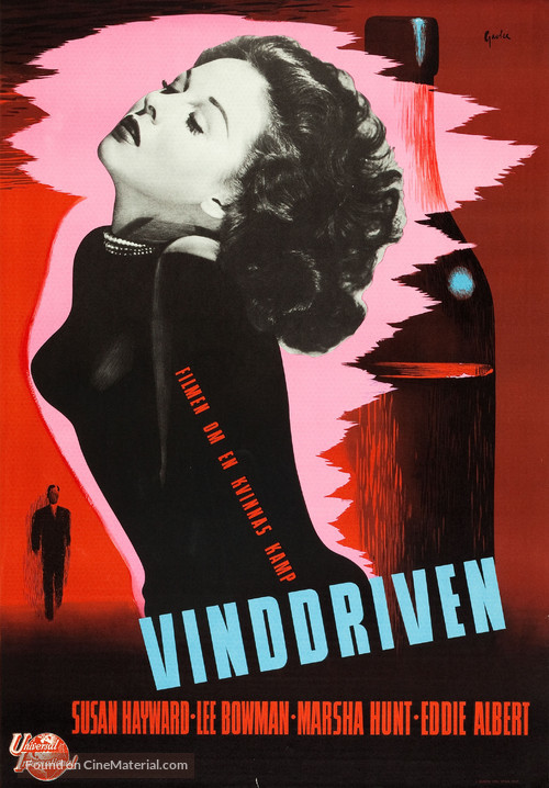 Smash-Up: The Story of a Woman - Swedish Movie Poster