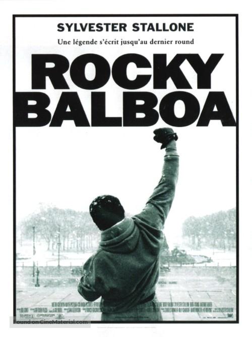 Rocky Balboa - French Movie Poster