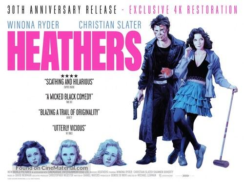 Heathers - British Movie Poster