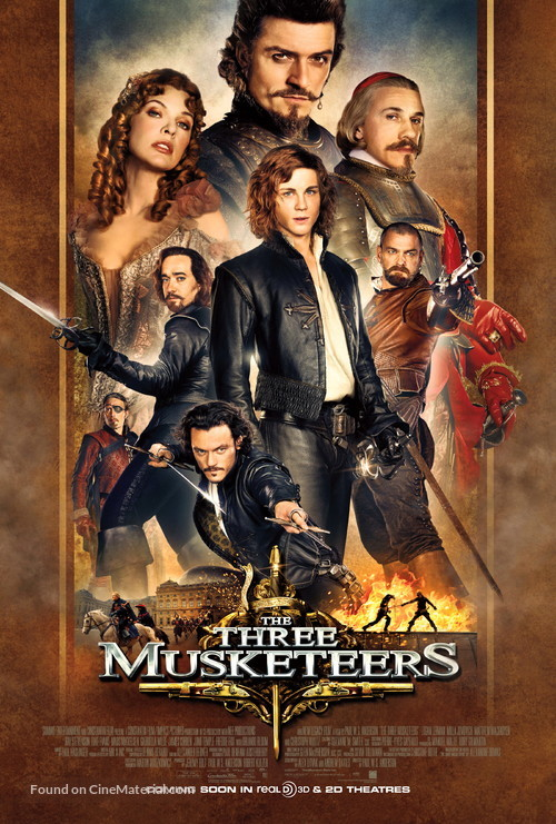 The Three Musketeers - Movie Poster
