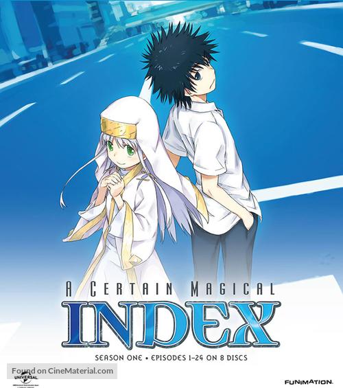 """""""To aru majutsu no indekkusu"""" - Movie Cover"""