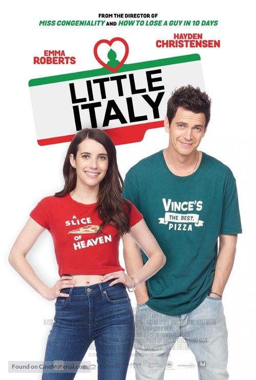 Little Italy - Canadian Movie Poster