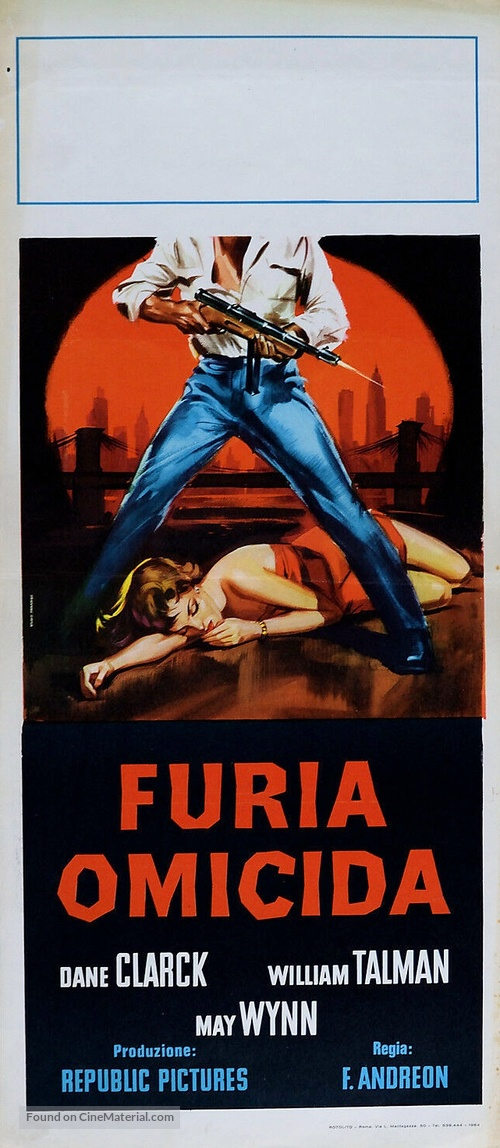 The Man Is Armed - Italian Movie Poster