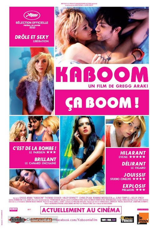 Kaboom - Canadian Movie Poster