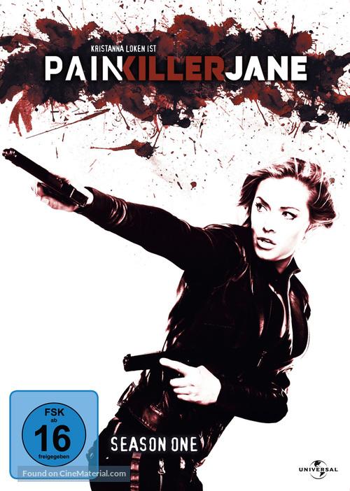 """Painkiller Jane"" - German DVD movie cover"