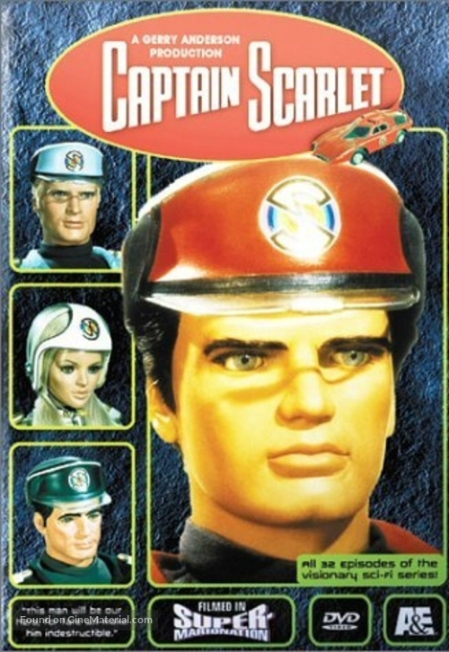 """""""Captain Scarlet and the Mysterons"""" - DVD movie cover"""