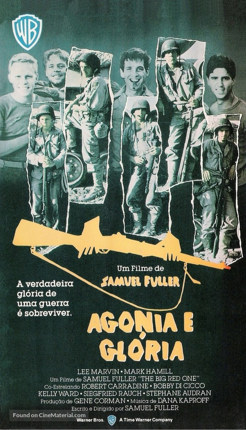 The Big Red One - Brazilian Movie Cover