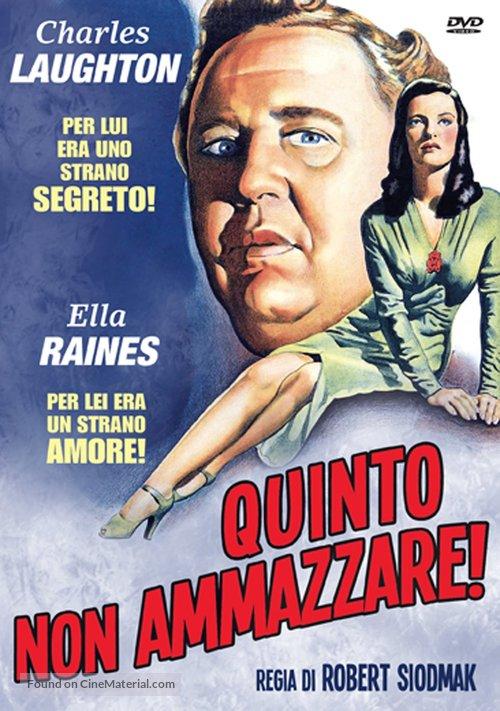 The Suspect - Italian DVD movie cover