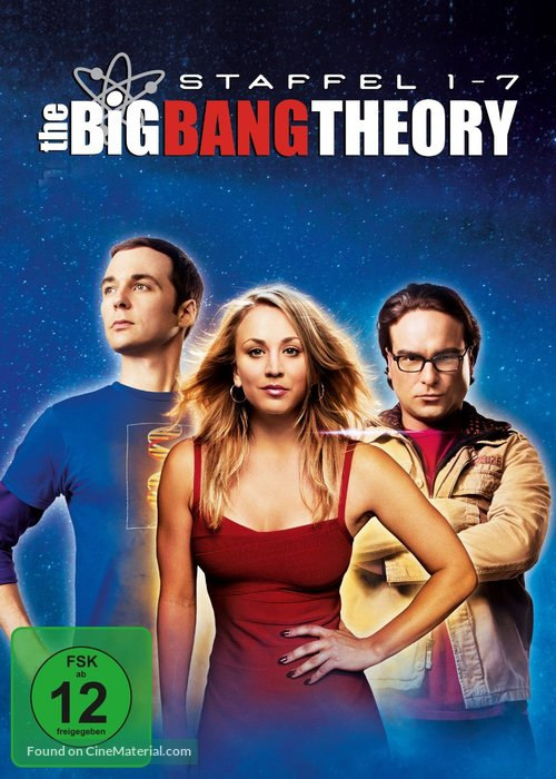 """The Big Bang Theory"" - German Movie Cover"