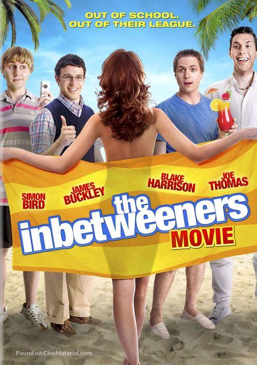 The Inbetweeners Movie - DVD movie cover