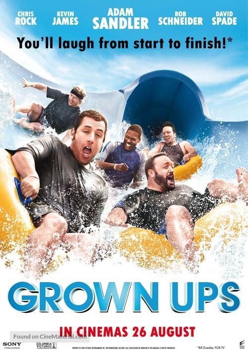 Grown Ups - Singaporean Movie Poster