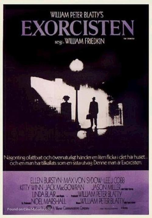 The Exorcist - Danish Movie Poster