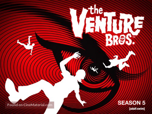 """""""The Venture Bros."""" - Video on demand movie cover"""