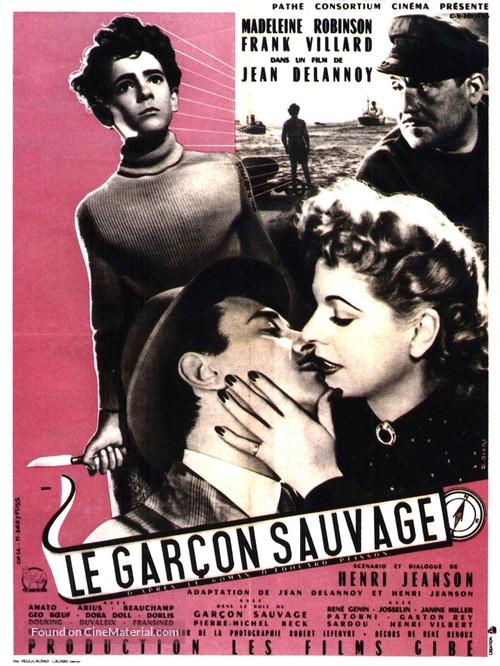 Le garçon sauvage - French Movie Poster