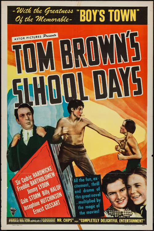 Tom Brown's School Days - Movie Poster