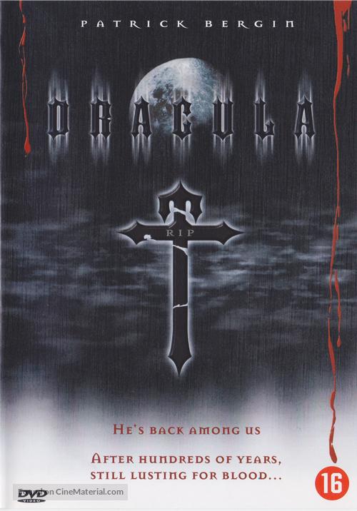 """Dracula"" - Belgian DVD movie cover"