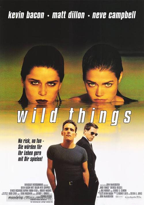 Wild Things - German Movie Poster