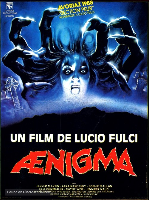 Aenigma - French Movie Poster