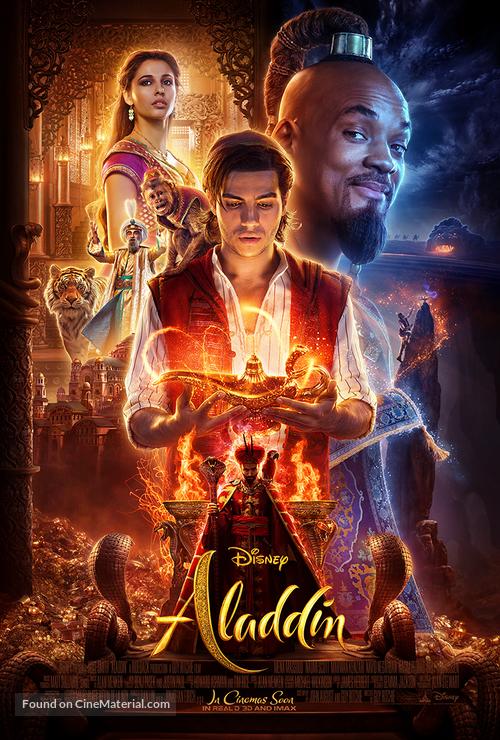 Aladdin - International Movie Poster