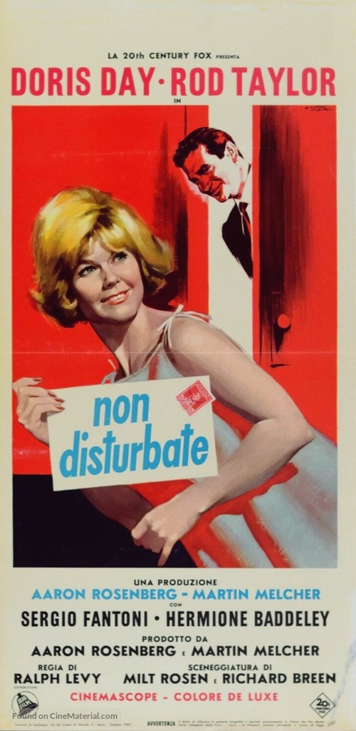 Do Not Disturb - Italian Movie Poster