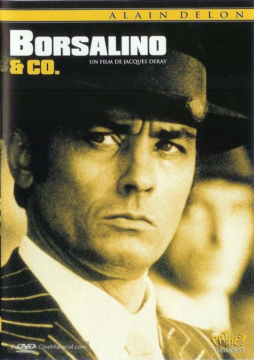 Borsalino and Co. - French DVD movie cover