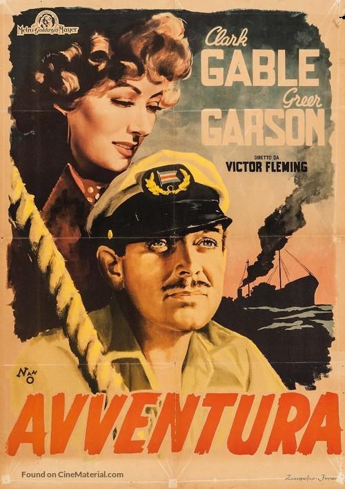 Adventure - Italian Movie Poster