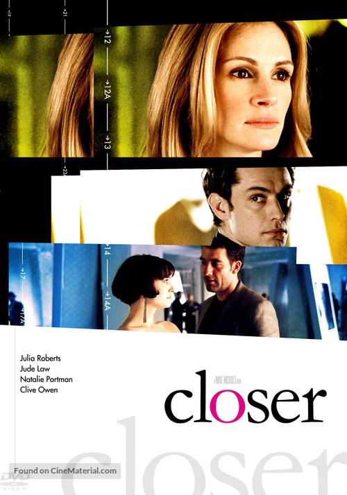 Closer - DVD movie cover
