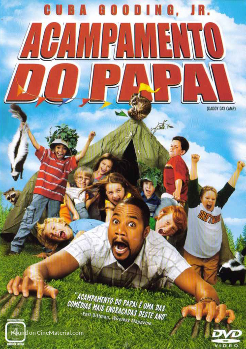 Daddy Day Camp - Brazilian DVD movie cover