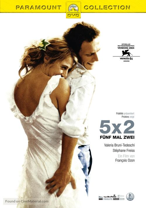 5x2 - German DVD movie cover