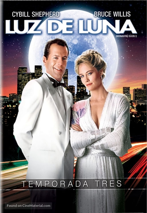 """Moonlighting"" - Argentinian DVD movie cover"