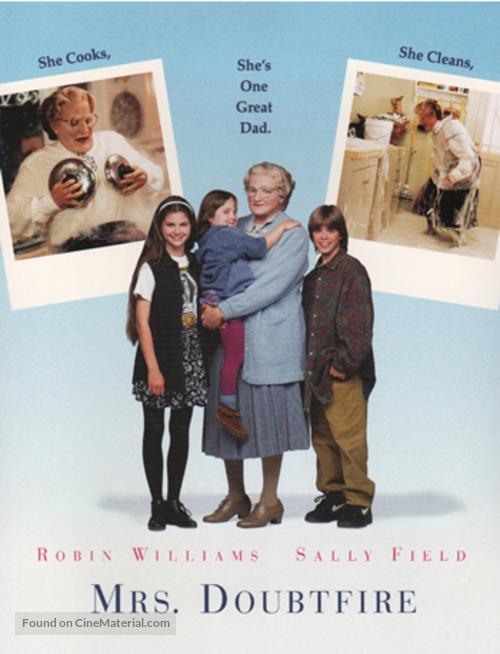 Mrs. Doubtfire - Movie Poster