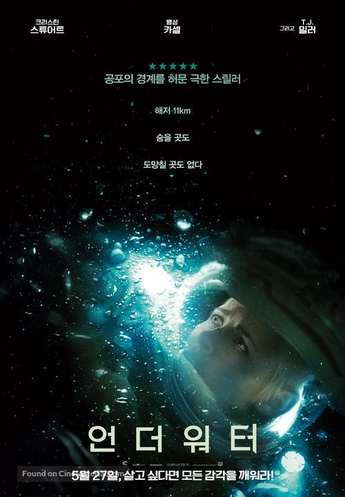 Underwater - South Korean Movie Poster