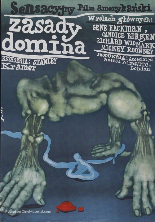 The Domino Principle - Polish Movie Poster