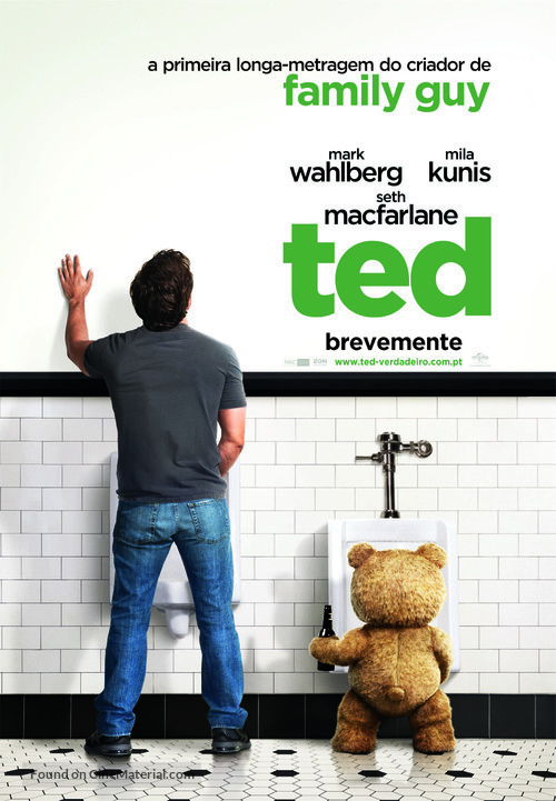 Ted - Portuguese Movie Poster
