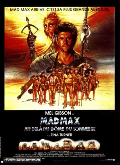 Mad Max Beyond Thunderdome - Italian Movie Poster