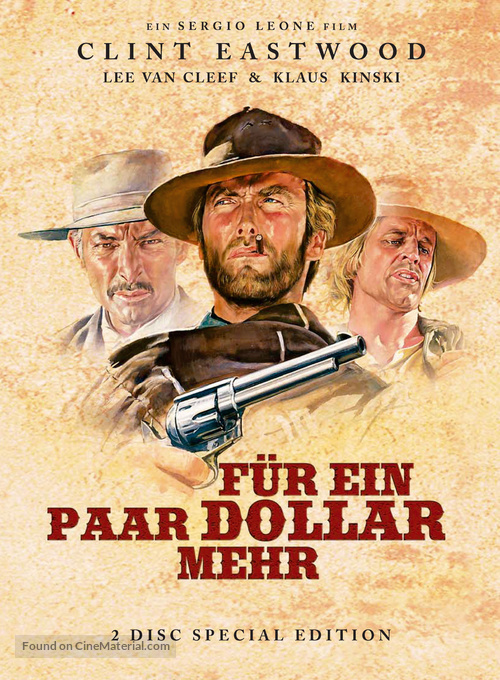 Per qualche dollaro in più - German DVD movie cover