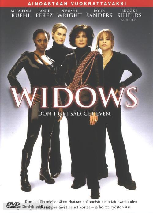 """""""Widows"""" - Finnish poster"""