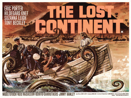 The Lost Continent - British Movie Poster