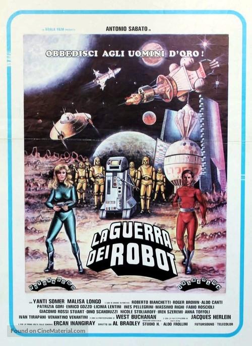 La guerra dei robot - Italian Movie Poster