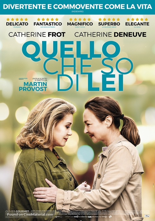 Sage femme - Italian Movie Poster