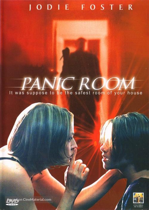 Panic Room dvd cover