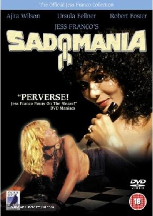 Sadomania - Hölle der Lust - British Movie Poster
